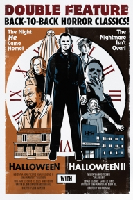 Retro Halloween Poster